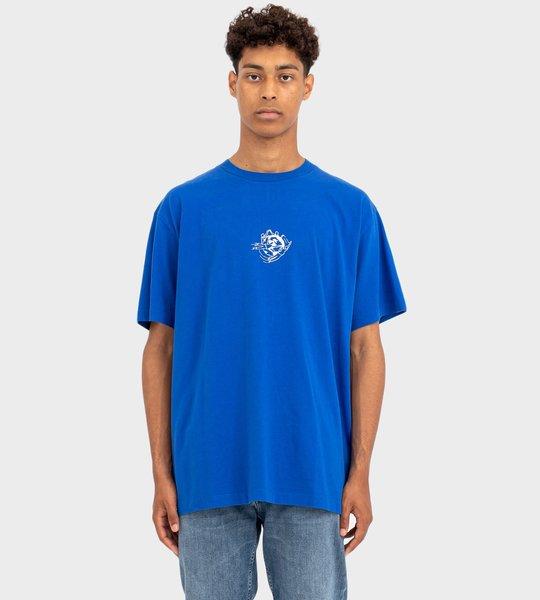 Half Arrow S/S Over T-shirt Blue