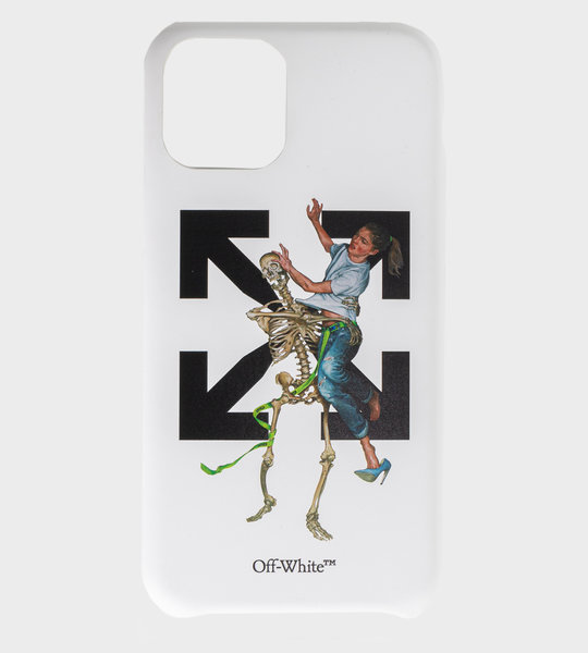 Pascal skeleton Iphone 11 Case White