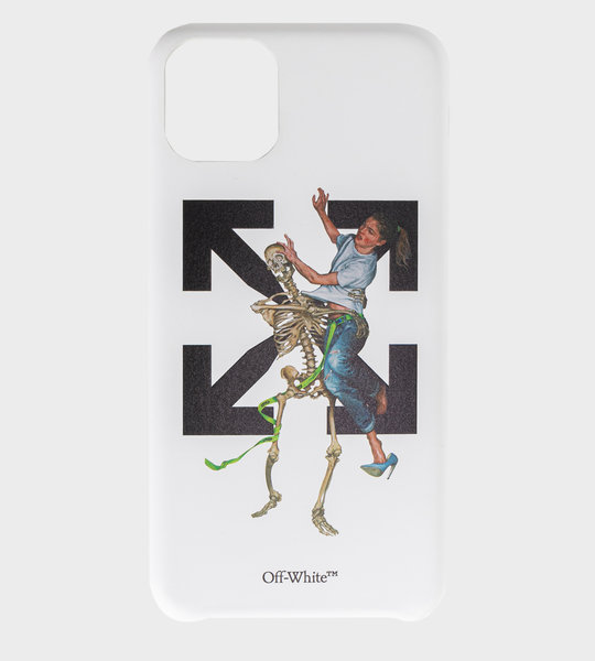 Pascal Skeleton Iphone 11 Max Case White