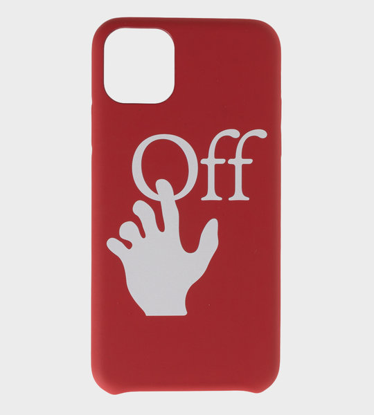 Logo-Print Iphone 11 Case Red