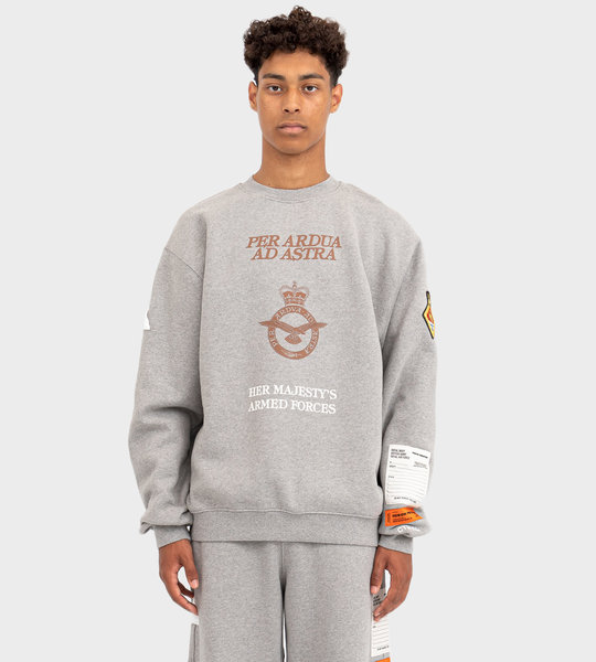 HP X MINISTRY OF DEFENCE British Army Crewneck Grey