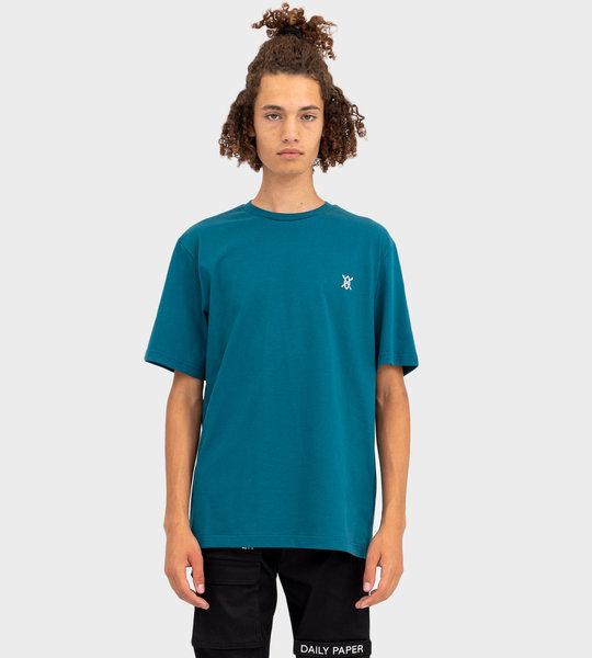 Shield T-Shirt Ink Blue