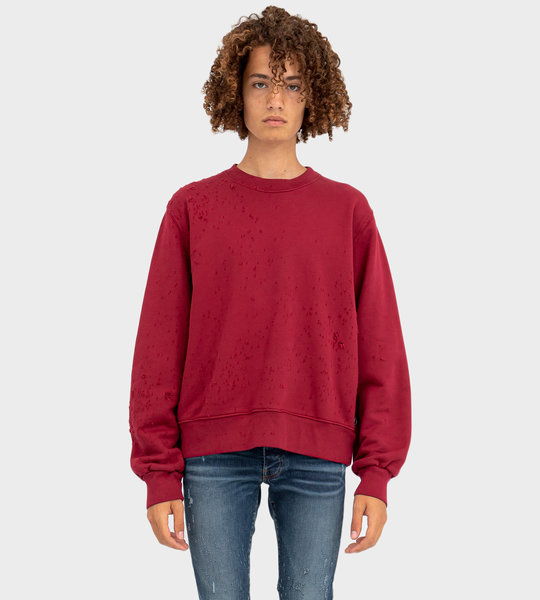 Shotgun Crewneck Red