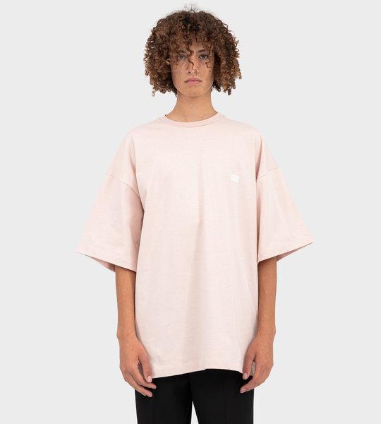 Logo Print T-shirt Pink