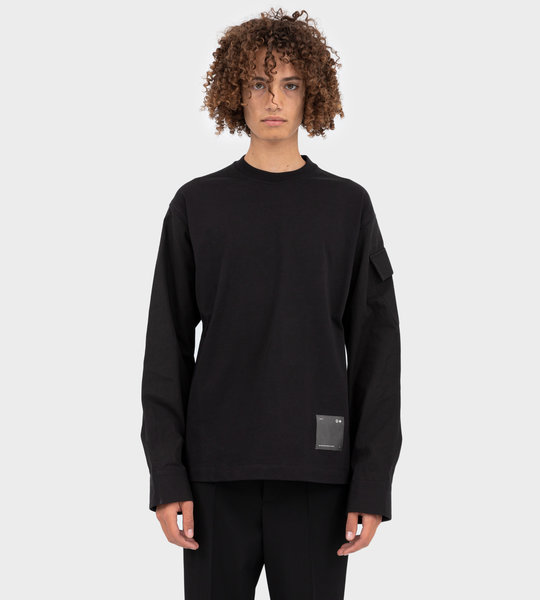Colonel LS T-shirt Black