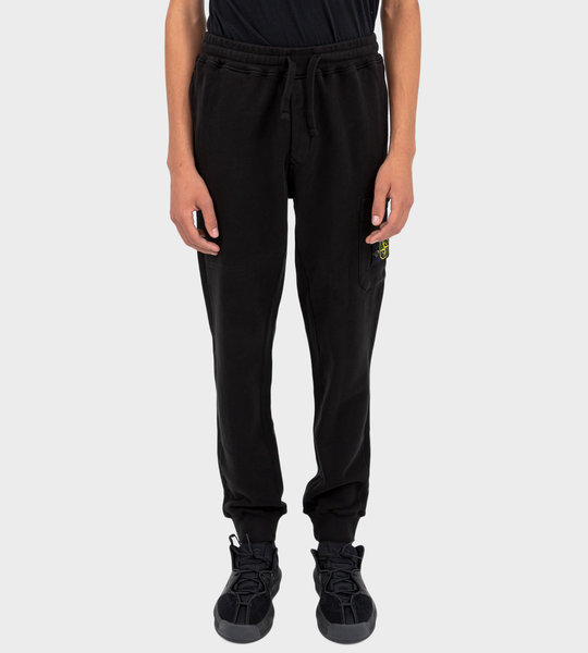 64520 Logo Patch Track Pants Black