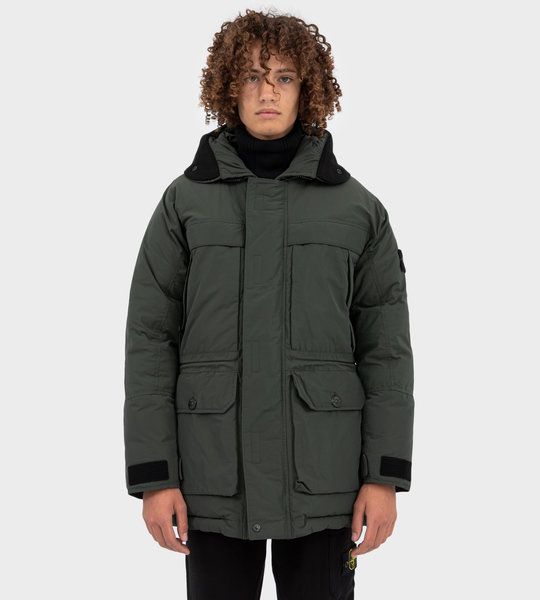 40826 Micro Reps Down Parka Musk