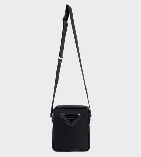Small Logo Cross-Body Black