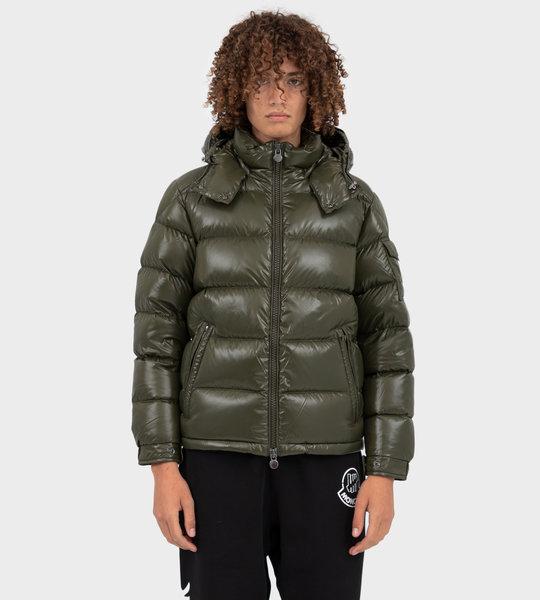 Maya Down Jacket Military Green