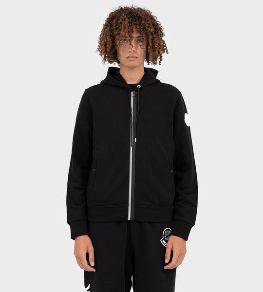 Hooded Cardigan Black