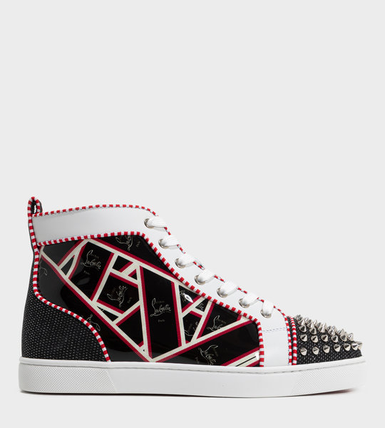 Lou Spikes Orlato High-Top Sneaker