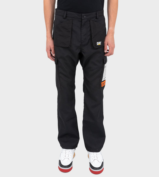 HP X Caterpillar Pants Black