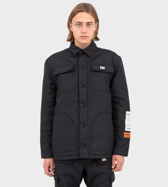 HP X Caterpillar Jacket Black