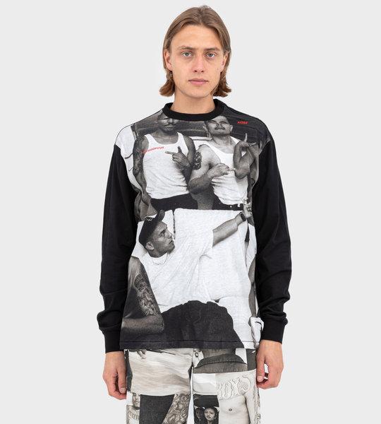 Robert Yager LS Black T-shirt