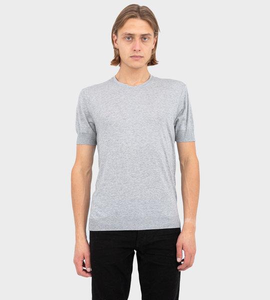 Round Neck T-Shirt Grey
