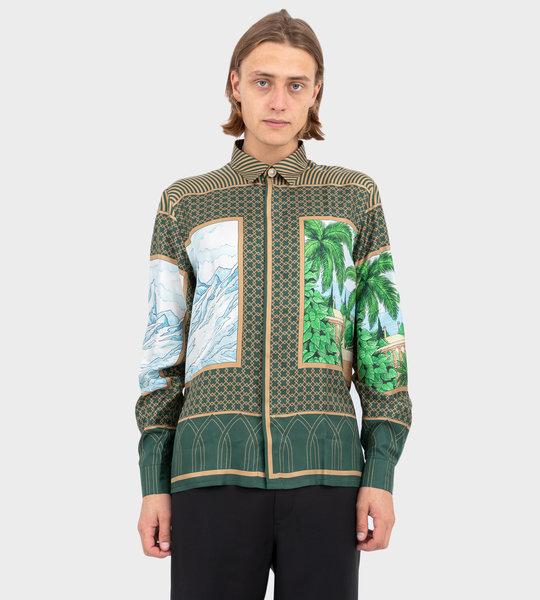 Silk Landscape Shirt