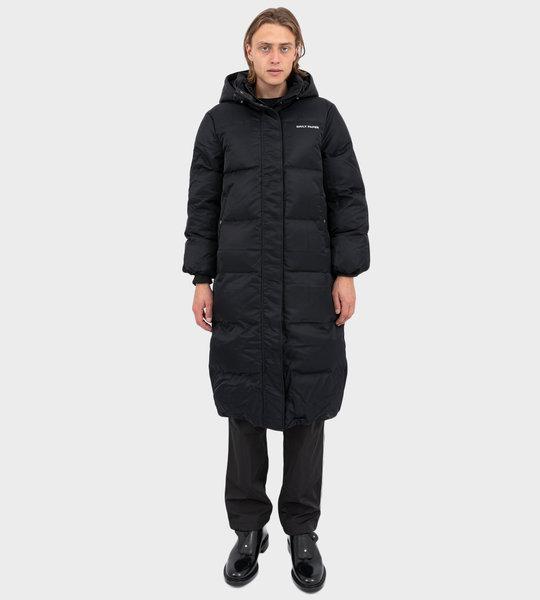 Epuffa Long Jacket Black