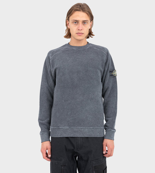 62290 Dust Color Treatment Crewneck