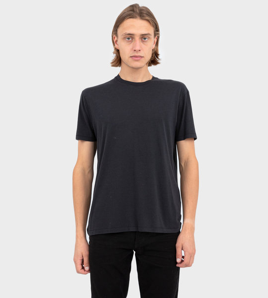 Viscose And Cotton T-shirt Black