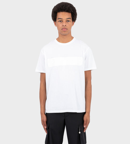T-Shirt With Band White