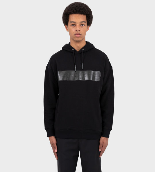 Hoodie With Band Black