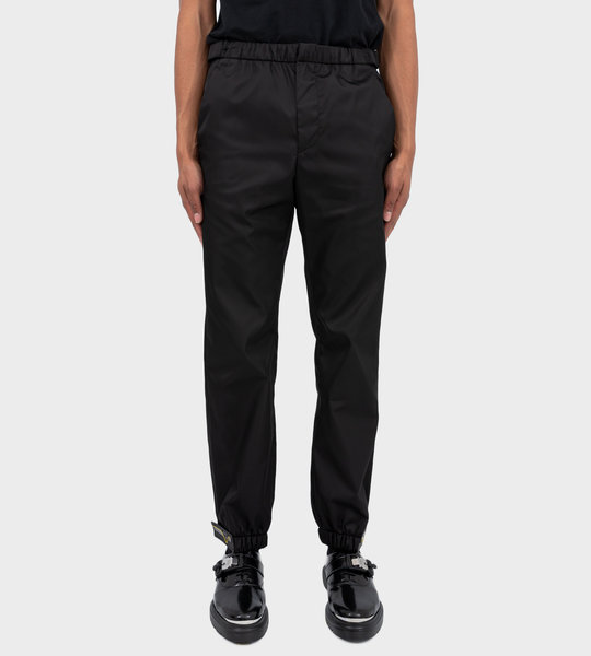Tapered Track Pants Black