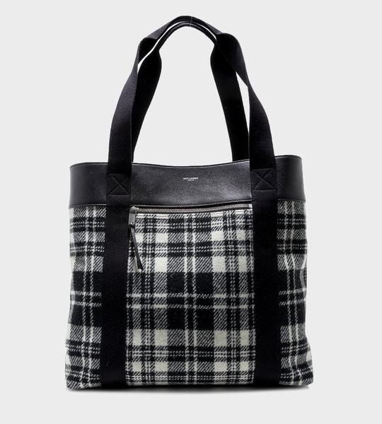 Daily Cabas Medium Bag Tartan