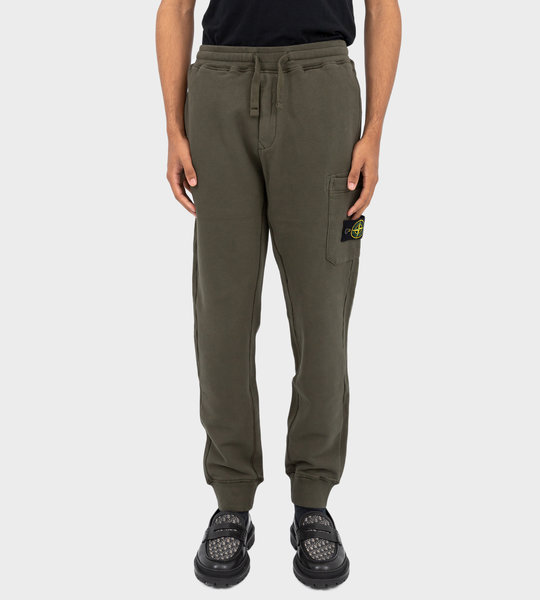 64520 Logo Patch Track Pants Musk