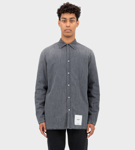 Organic-Cotton Shirt Grey