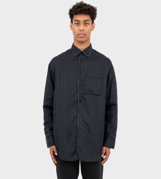 Striped Shirt Black