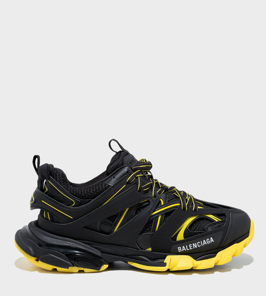 Track Sneakers Black/Yellow