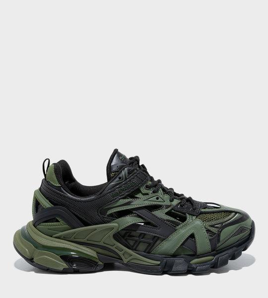 Track Sneakers Black/Khaki