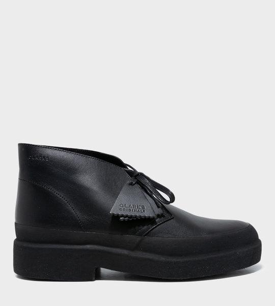 Desert Lace-up Shoes Black