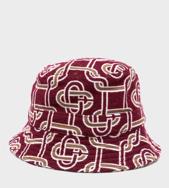 Monogram Wool Bucket Hat