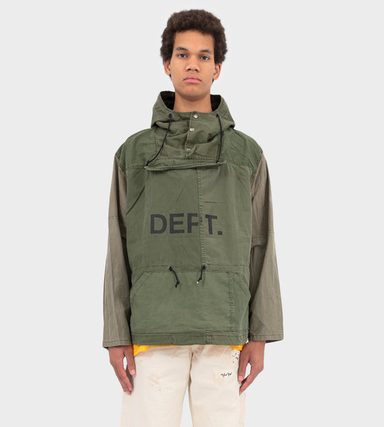 Riley Anorak Jacket Military Green