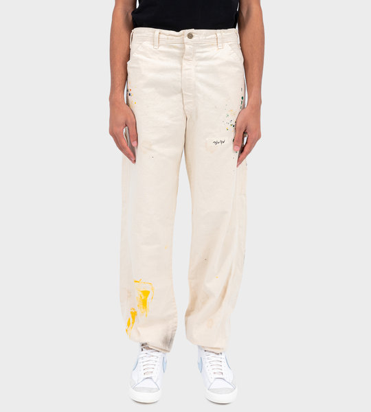 Canvas Carpenter Pants