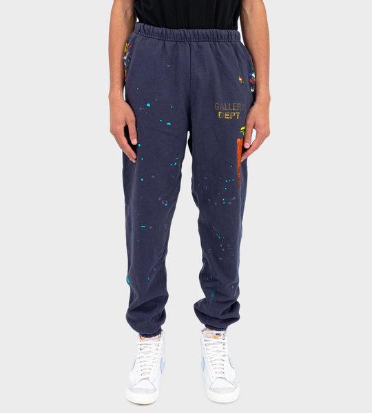 Logo Sweat Pants Blue
