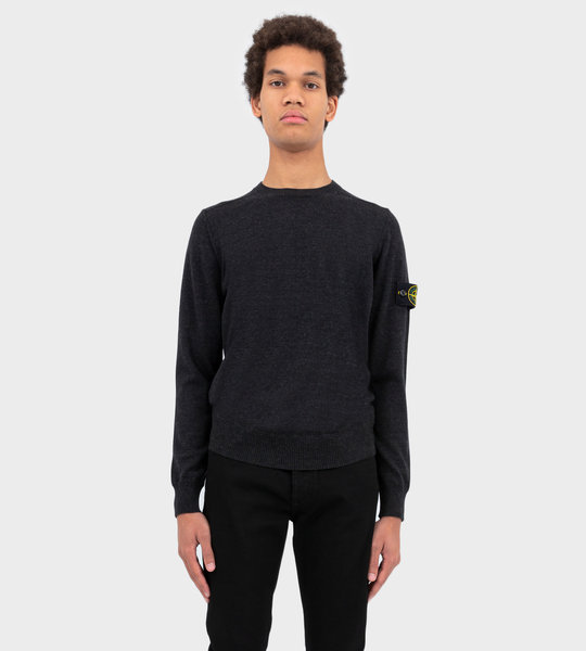Wool Knitwear Sweater Charcoal