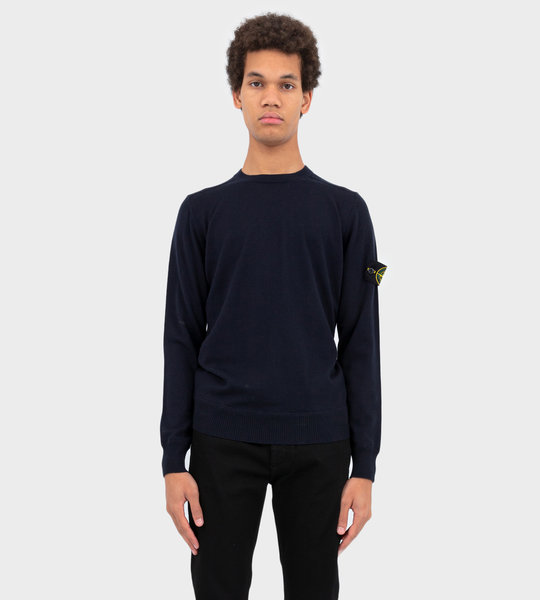 Wool Knitwear Sweater Navy