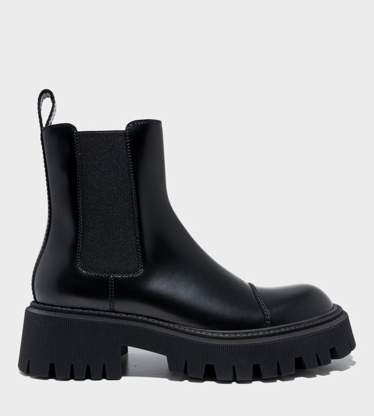 Tractor 20mm Boot Black