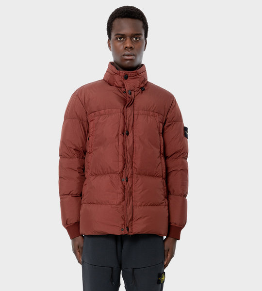 40123 Garment Dyed Crinkle Reps NY Down Jacket Mosto