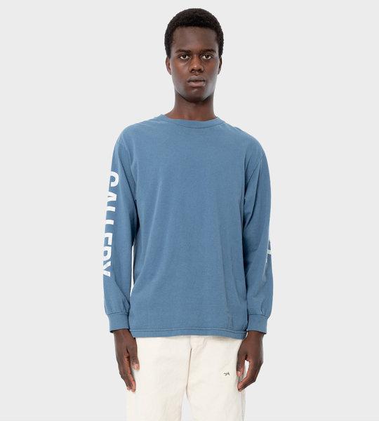 Collector LS T-shirt Blue