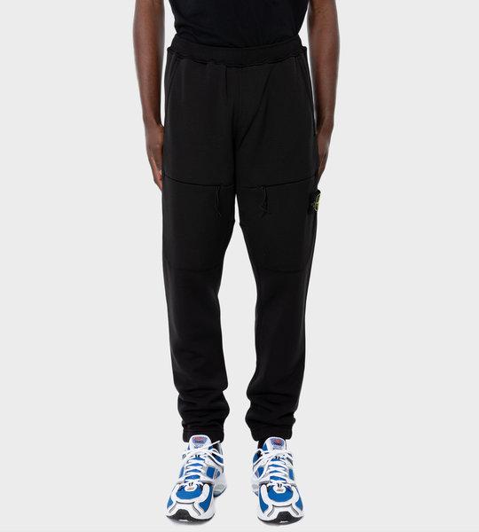 63847 Fleece Cargo Pants Black