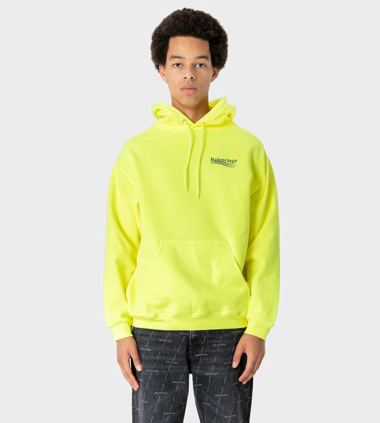 Political Campaign Hoodie Yellow