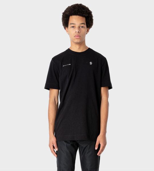 6 Moncler Genius 1017 X ALYX 9SM Maglia T-shirt Black