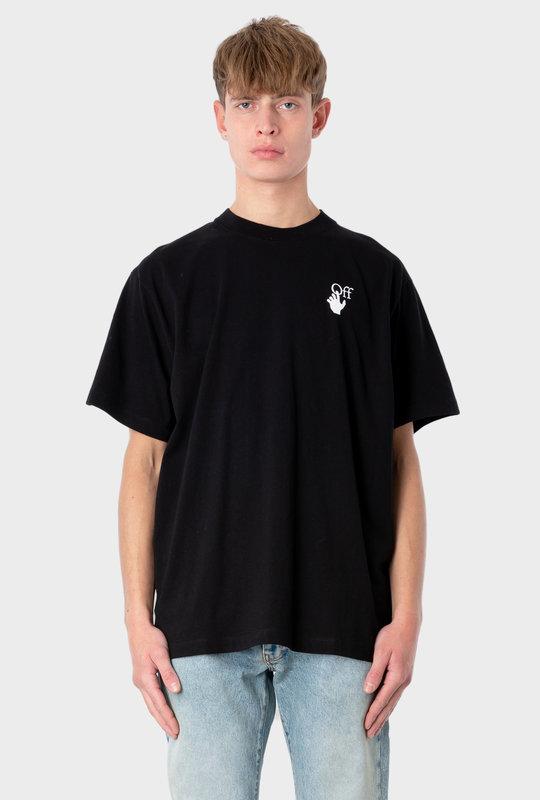 Marker Logo T-shirt Black