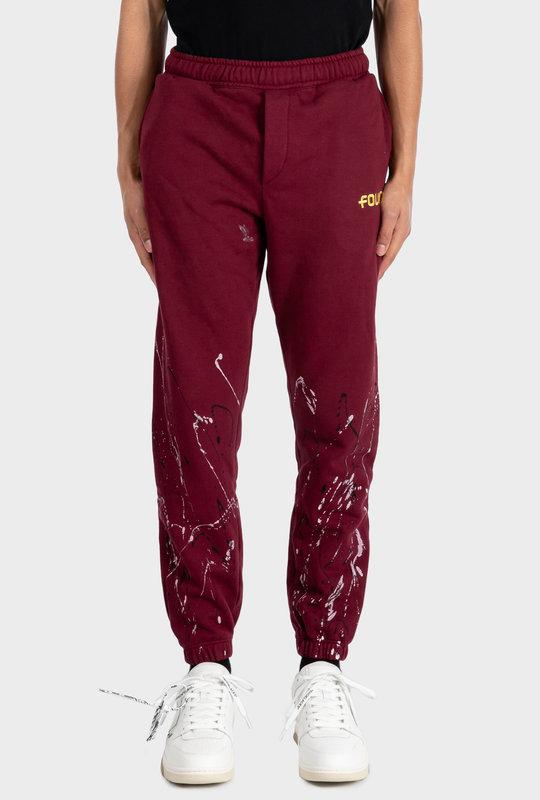 Paint Pants Bordeaux