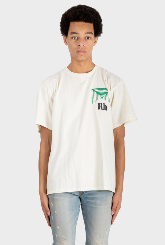 Box Perspective Tee White