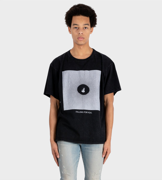 Falling For You Tee Black