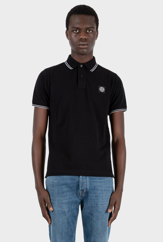 Short Sleeve Polo Black